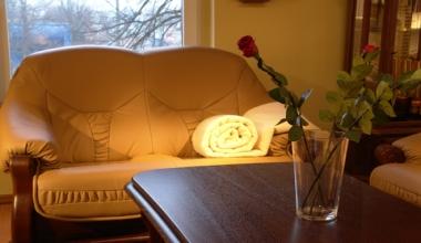 beige down throw blanket brown sofa