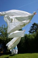 laundry clothes line pillow